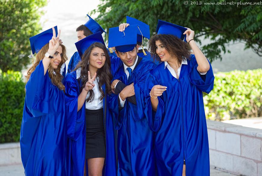 College graduation, Jordan 2013
