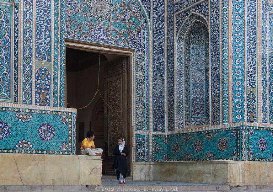 Jameh Mosque in Yazd, 2013