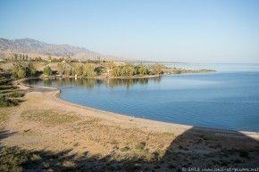 Issy-Kol lake, Kyrgyzstan 2013