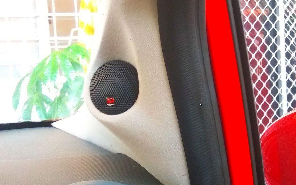 Custom Car Audio Pillar Upgrade