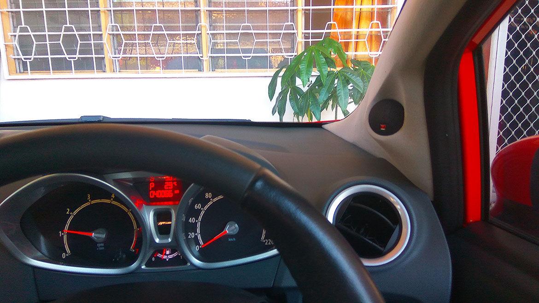 Custom Car Pillar Upgrade Ford Fiesta