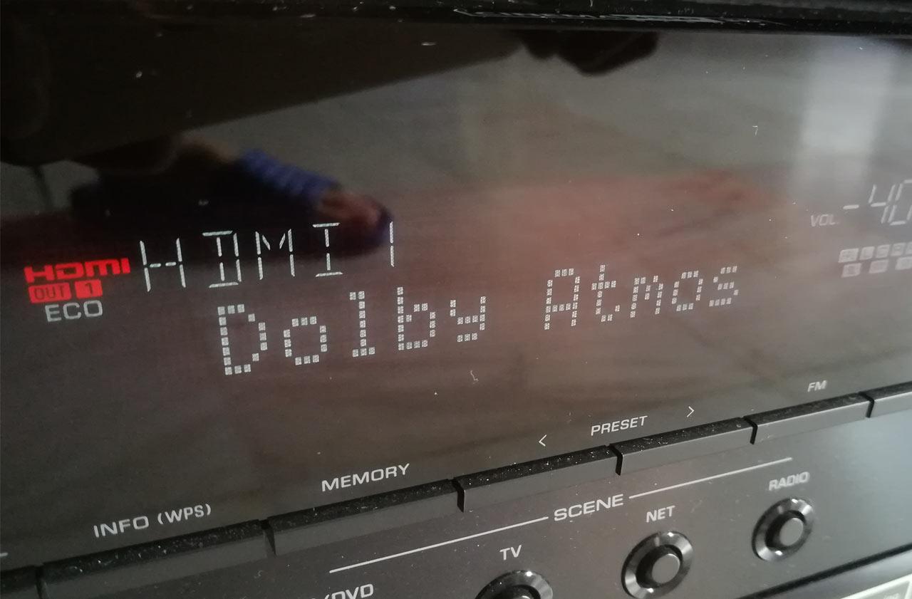 Yamaha Aventage RX-A860 Dolby Atmos Movie Test