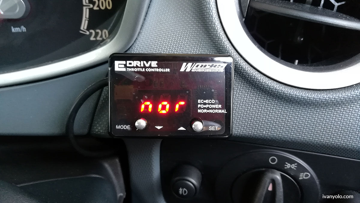 Works Engineering E-Throttle Controller Ford Fiesta 2011
