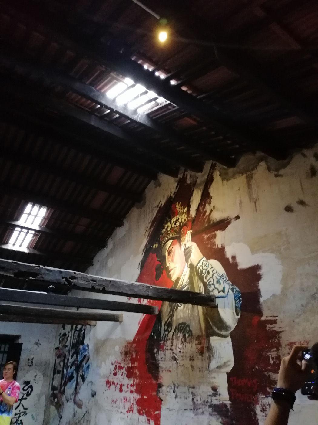 Penang Wall Painting
