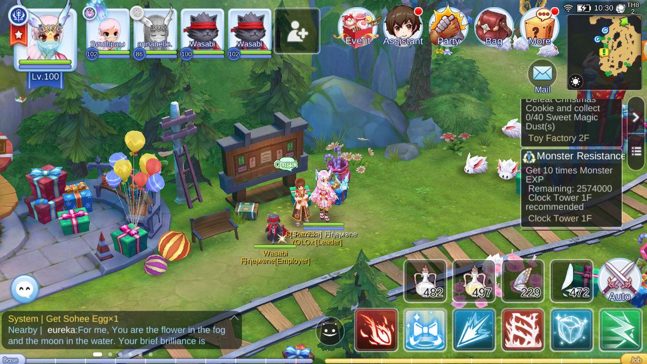 St Patrick in Prontera South Gate Level 99 Aura Quest Ragnarok Mobile
