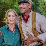 As primeiras cenas de Jungle Cruise, com Dwayne Johnson e Emily Blunt