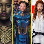Novidades da Marvel nos cinemas, com Eternos, Pantera Negra 2 e mais…