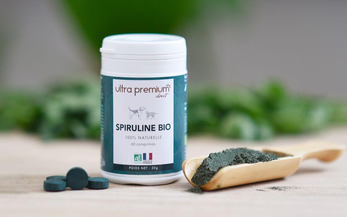 Boîte de Spiruline bio Ultra Premium Direct