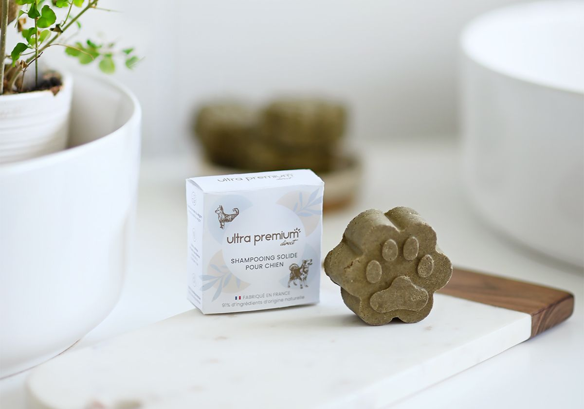 Shampooing solide pour chien Ultra Premium Direct