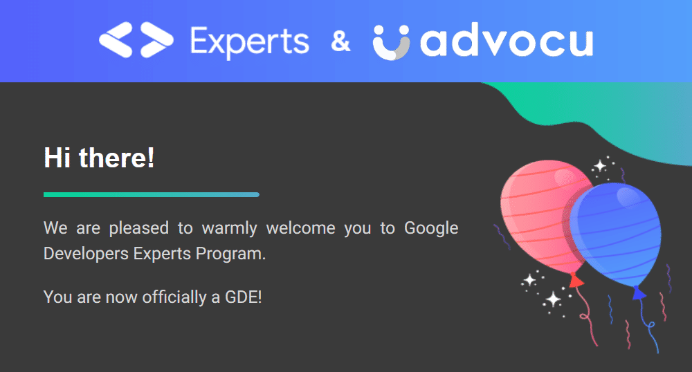 The welcome email I got today from Google