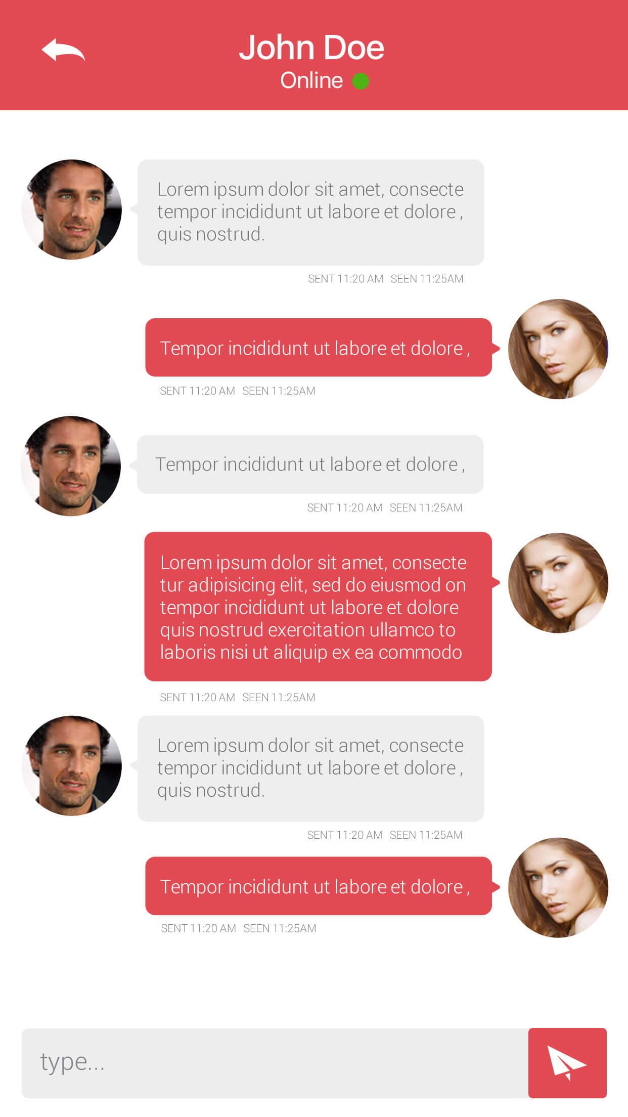 Chat Details