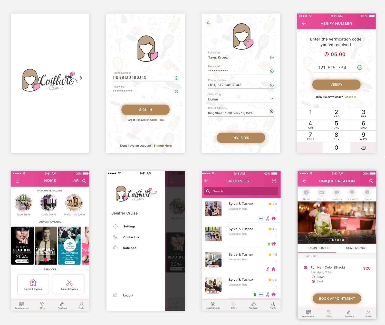 Some Screens of Kash App