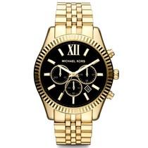 """Laikrodis vyrams """"MICHAEL KORS"""" su juodos spalvos ciferblatu"""
