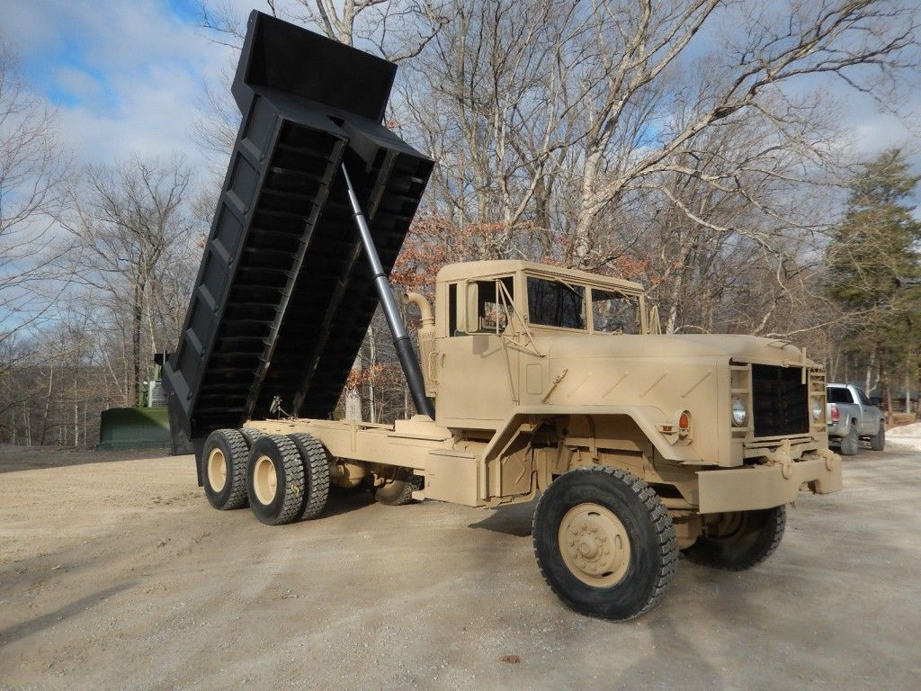 1984 AM General M934A1 Military dump Truck 16″ bed