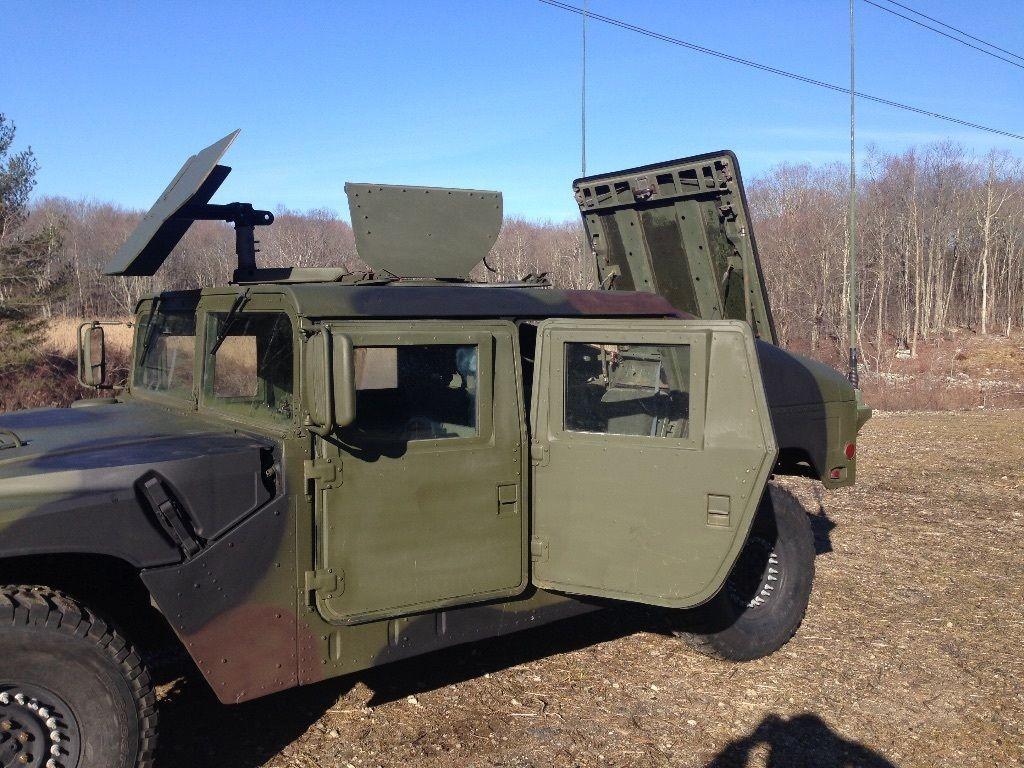 Military M998 Armored Slantback
