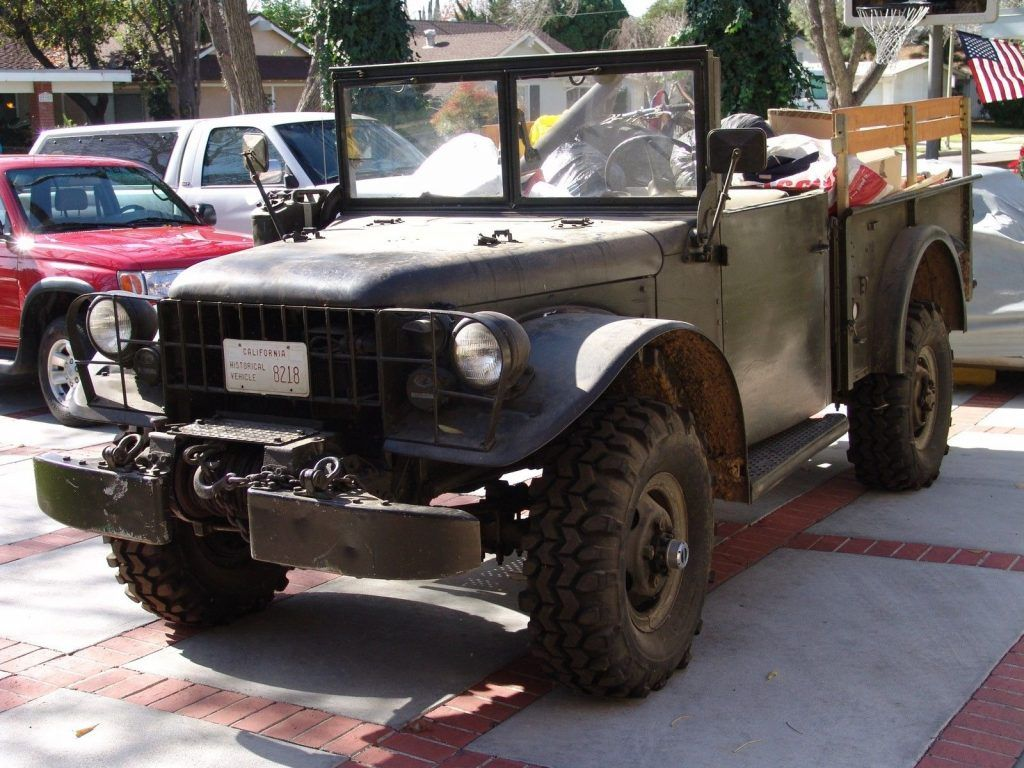 everything works 1953 Dodge Power Wagon M37 military