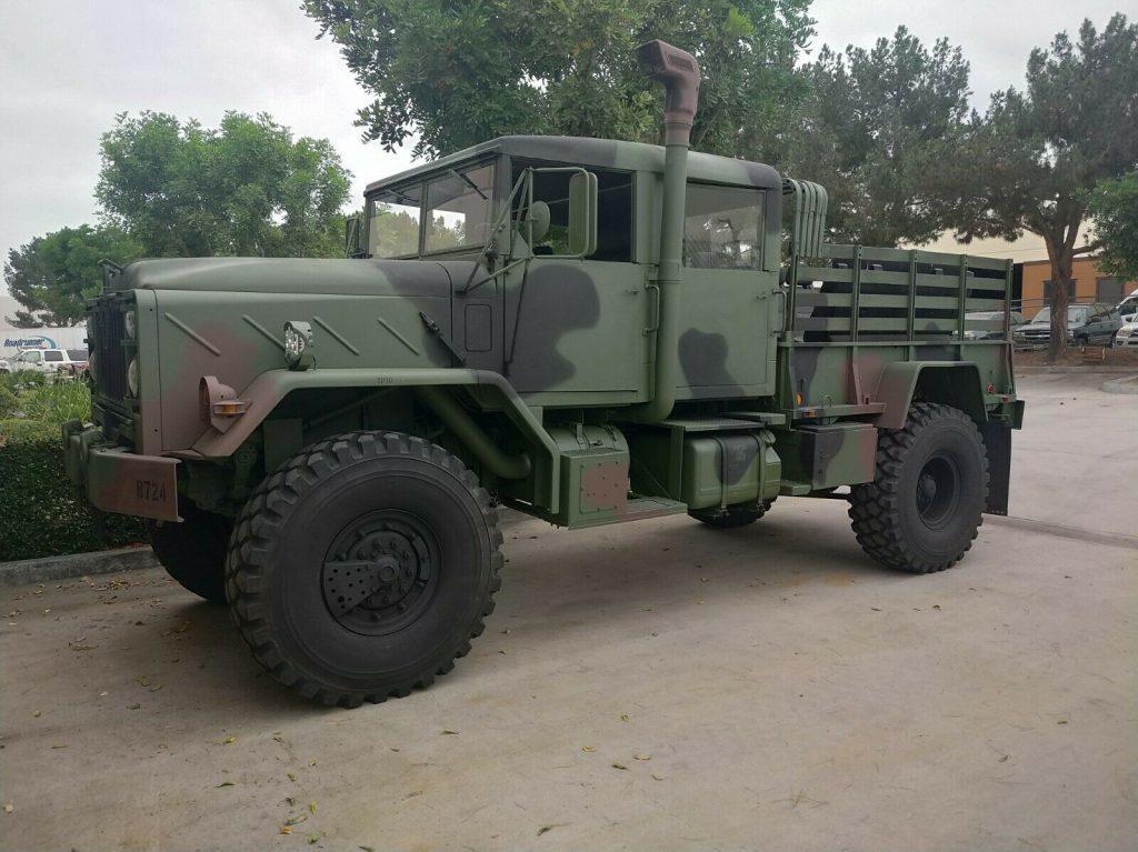 Custom Bobbed 1991 BMY Harsco 5 ton m932a2 military