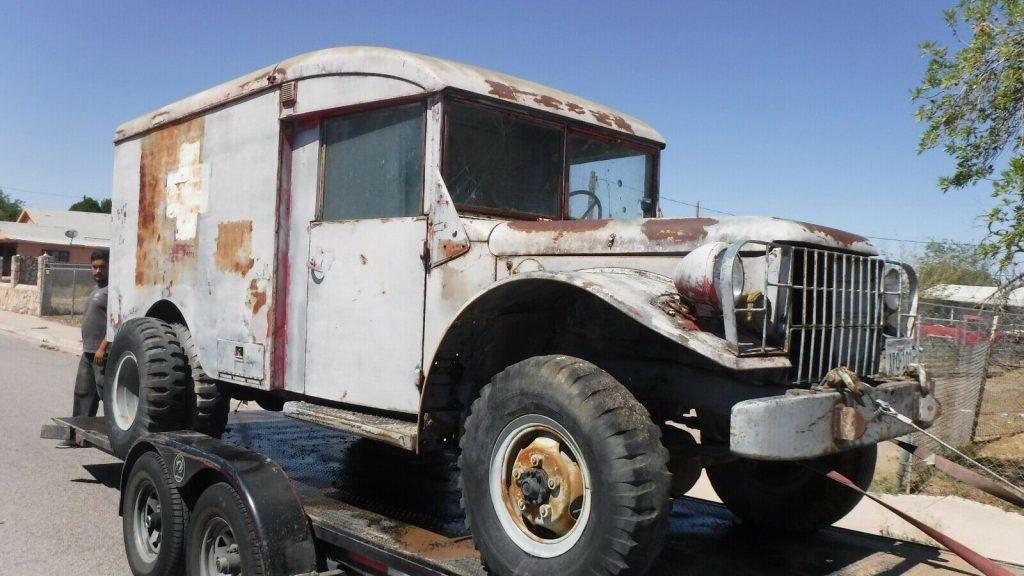 Project 1953 Dodge 4X4 Ambulance Military