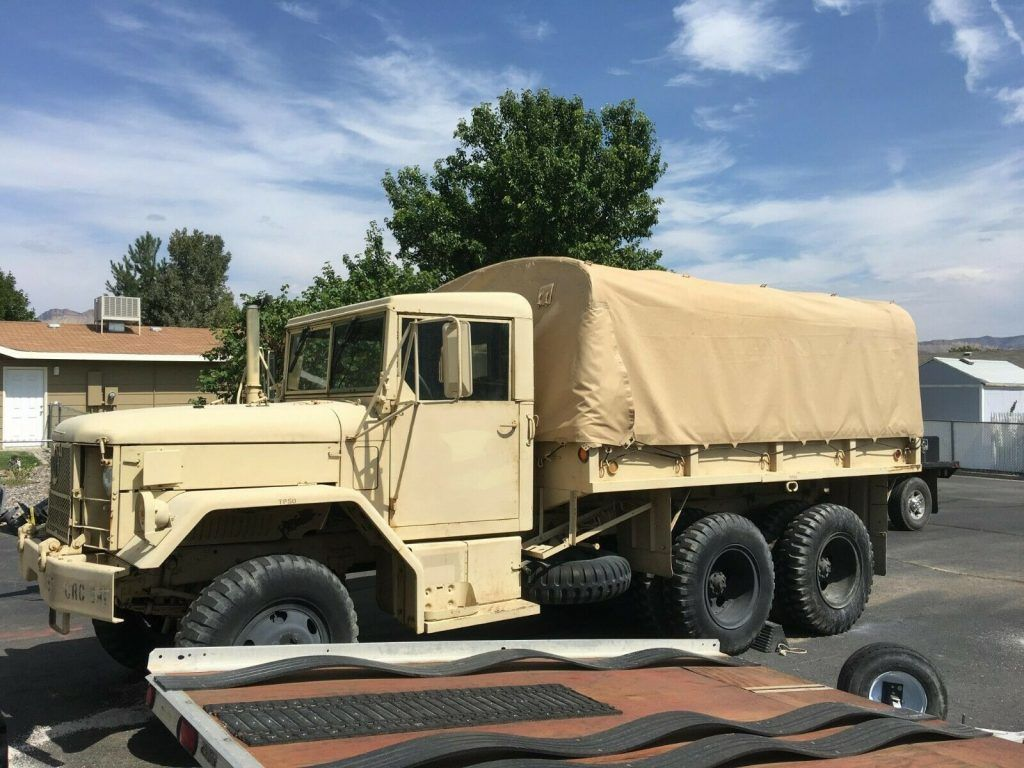 very nice 1971 AM General M35a2 Duece and a Half military