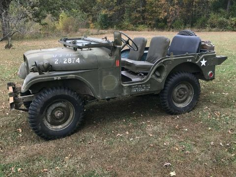 Survivor 1954 Jeep M38a1 army military for sale
