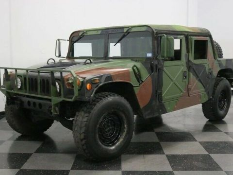 ready for action 1991 AM General M998 Hmmwv HUMVEE military for sale