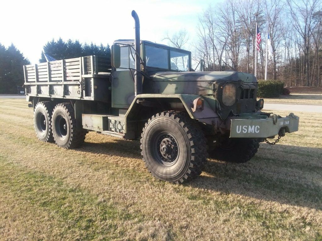serviced 1971 AM General M813a1 5 Ton 6×6 Super Single military
