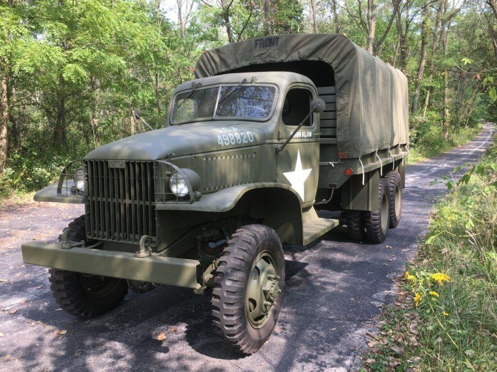1941 GMC CCKW 353 military truck [vintage warrior]
