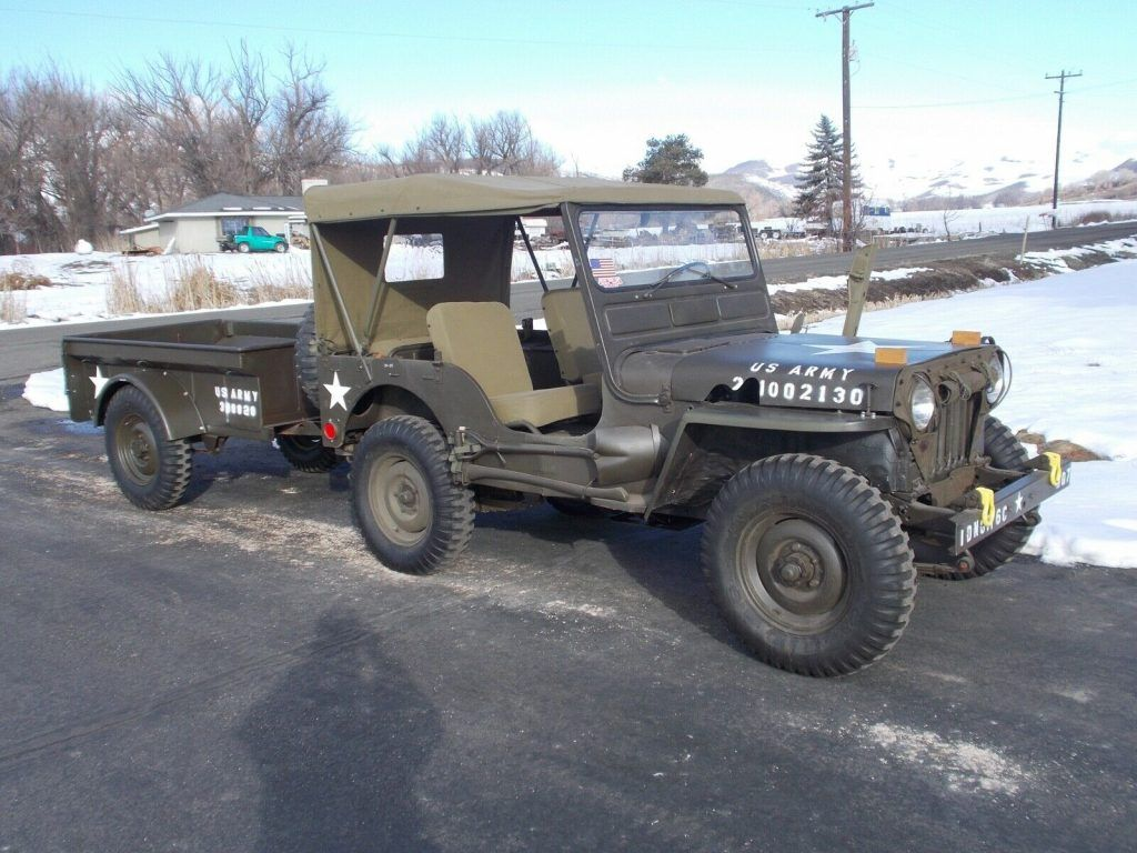 1953 Willys M38 military [well maintained and reconditioned]