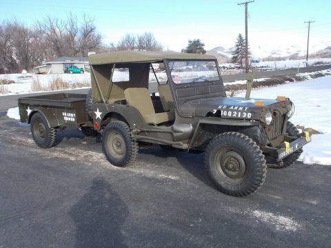 1953 Willys M38 military [well maintained and reconditioned] for sale