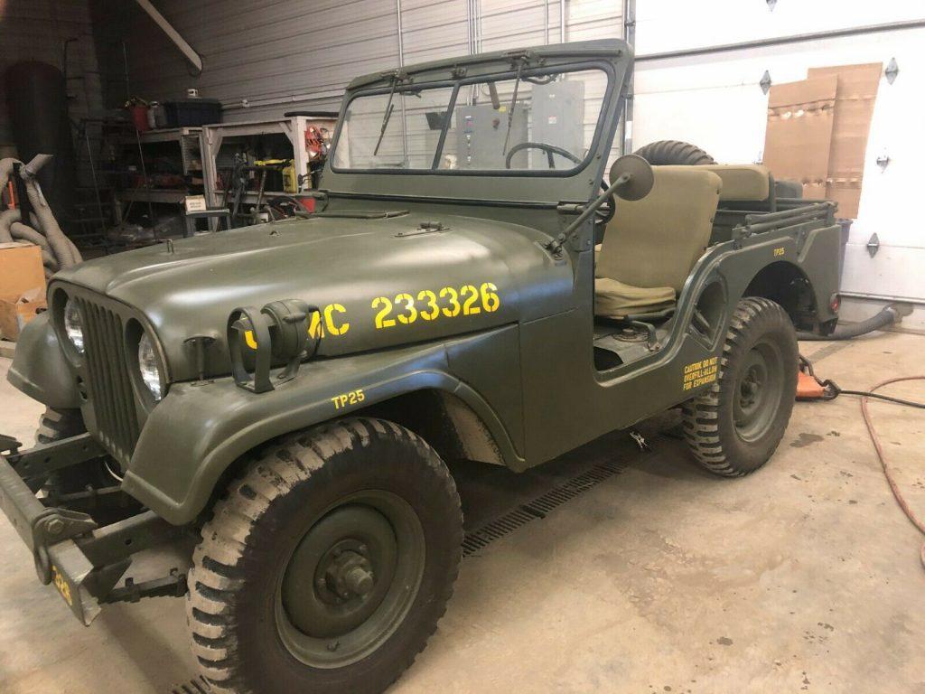 1953 Willys M38a1 [Frame Off Restoration]