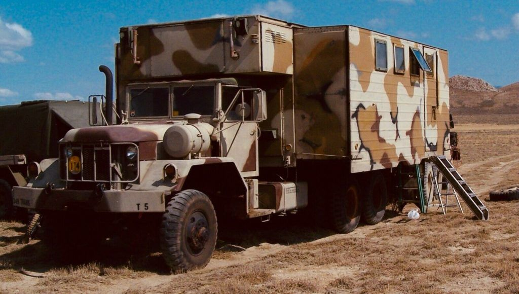 1970 Kaiser XM820 truck M32 military [great running]