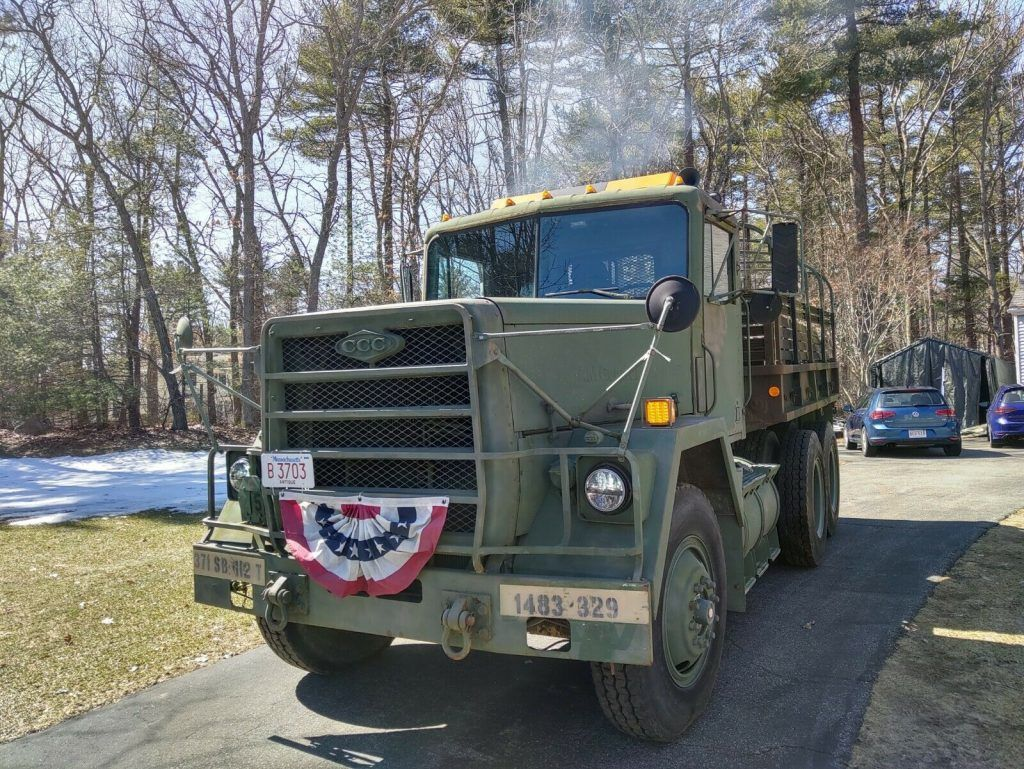 1984 AM General M915a1 Conversion military [converted to cargo body]
