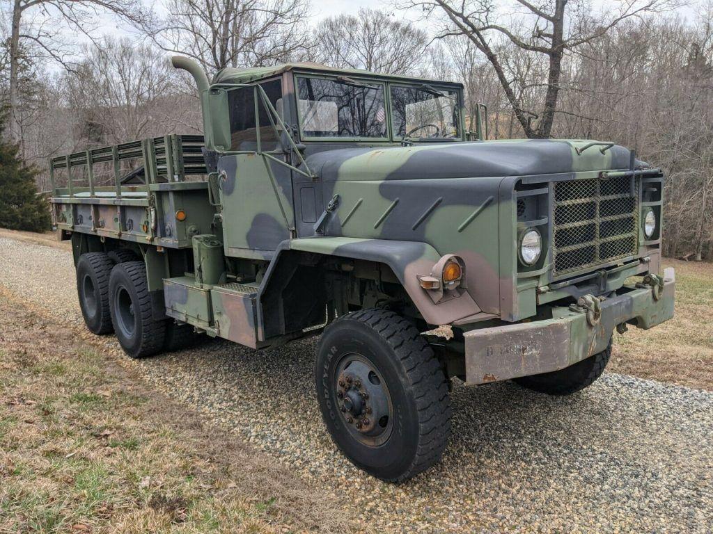 1984 AM General M923A military [Iraq service veteran]