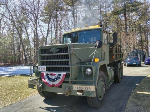 1984 AM General M915a1 Conversion military [Converted to Cargo Truck with Deuce Bed] for sale