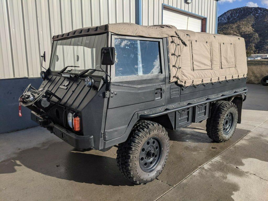 1974 Pinzgauer military truck [beautiful shape]