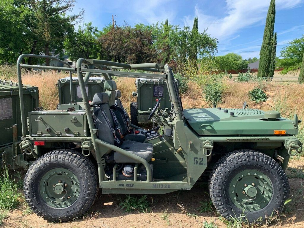 2010 General Dynamics M1163 ITV PM 4×4 Growler & 2010 M1164 ITV AT Ammo Trailer mlilitary [very clean]