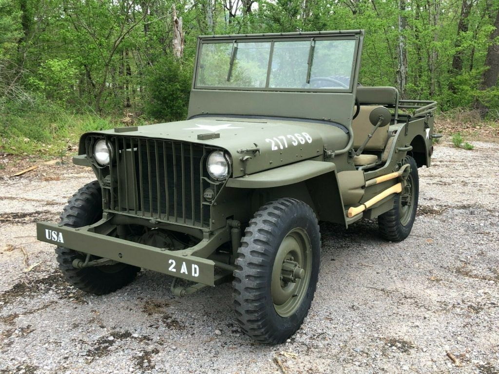1942 Willys MB military [fully restored]