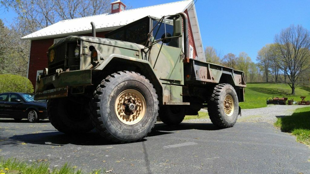 1971 AM General M35-A2 bobbed military truck [more than just a beastly truck]