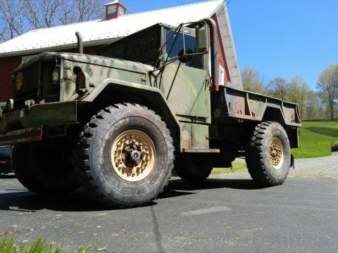 1971 AM General M35-A2 bobbed military truck [more than just a beastly truck] for sale