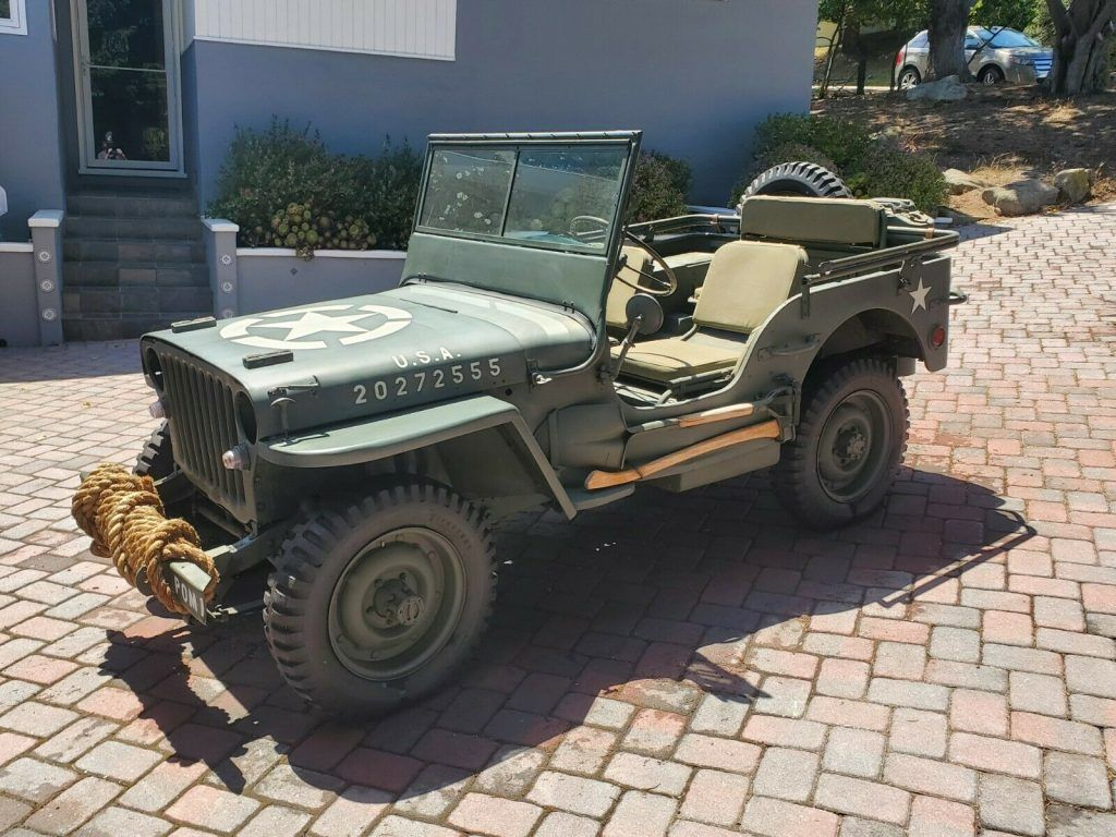 1943 Ford GPW military [many included parts]