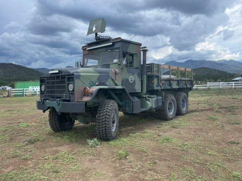 1991 BMY M923a2 RARE ROPS Military Truck [clean with low miles] for sale