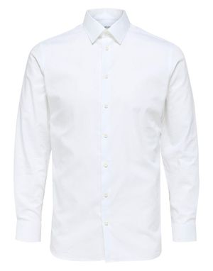 Selected Homme Slim Ethan Shirt in Bright White