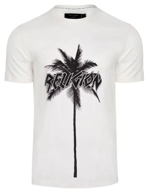 Religion Palms T-Shirt in White