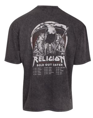 Religion Sold Out T-Shirt in Grey Wash