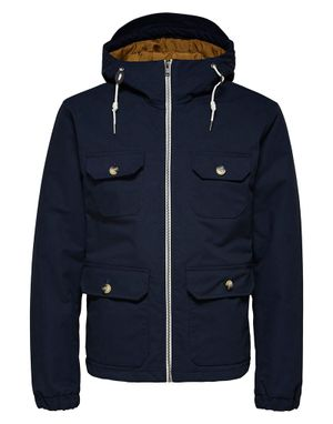 Selected Homme Baker Padded Cotton Jacket