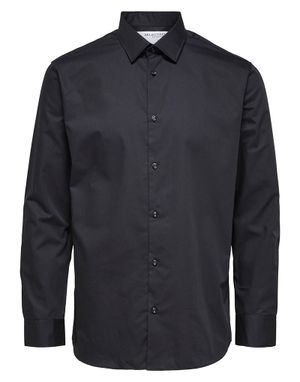 Selected Homme Slim Ethan Shirt in Black
