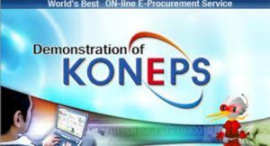 Read more about the article KONEPS – Award winning e-Procurement System