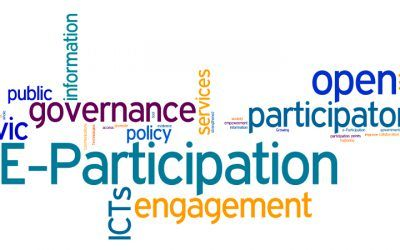 Enabling e-participation features in all citizen interactions can advance e-democracy goals.