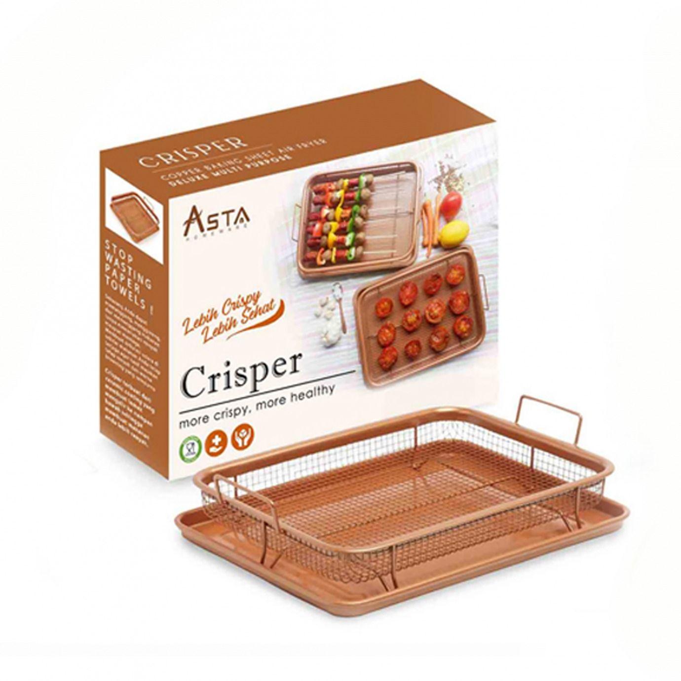 Mengenal Crisper Asta, Panggangan sekaligus Tirisan Minyak