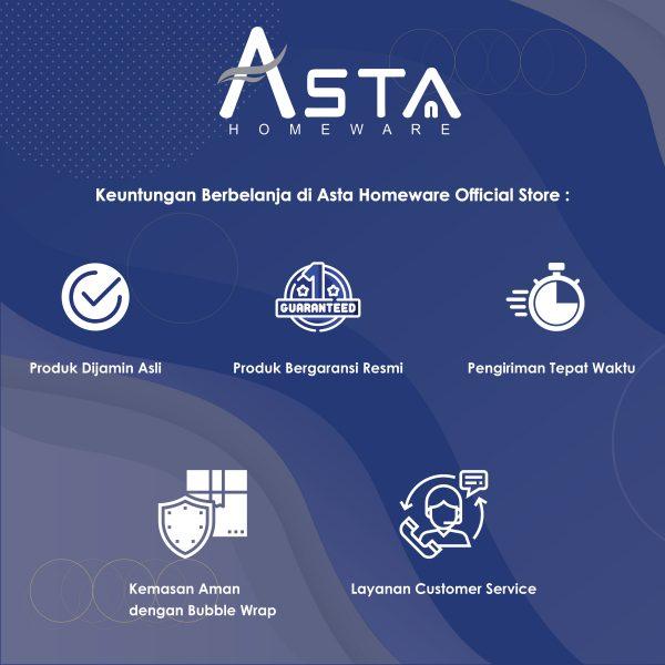 Keuntungan berbelanja di Asta Homeware Offical Store